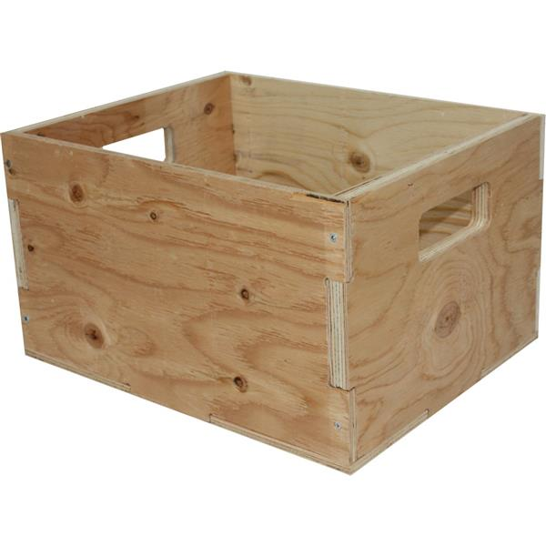 McNeil Heavy Spruce Wood Duty Crate - 15.5-in x 12.25-in