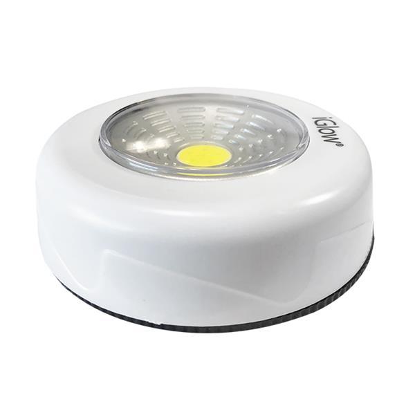 iGlow COB Spotlight Self-adhesive - 5 Pack