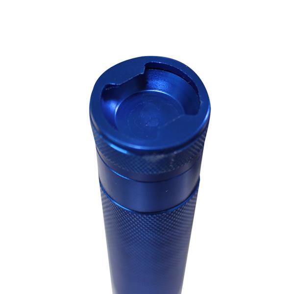 iGlow Flashlight W/Cap Opener - 13 LED - Aluminum - Blue