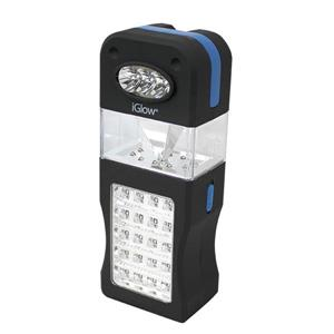 iGlow 3-in-1 LED Lantern - Black