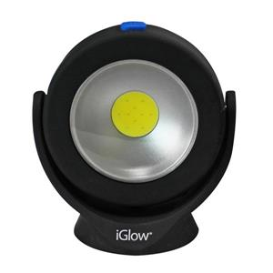 "iGlow Emergency Flood Work Light - 3.3"" x 3.7"" - Black"