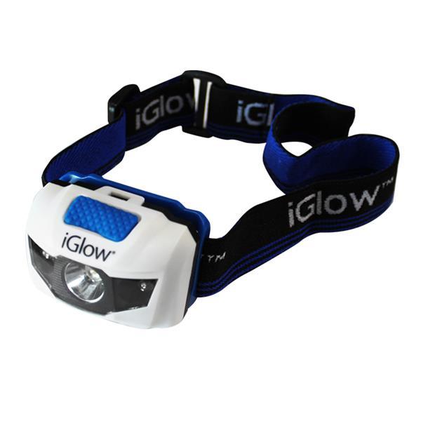"""iGlow LED Head Lights - 2.4"""" x 3.4"""" - Pack of 2"""