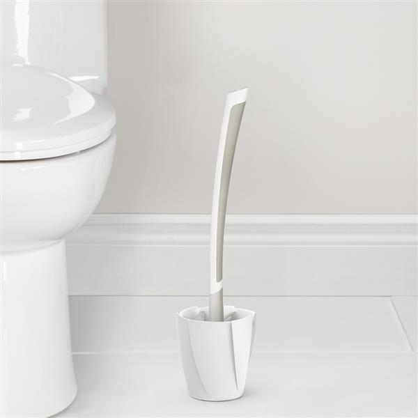 Better Living LOOEEZ Hygienic Toilet Squeegee - White