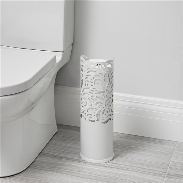Better Living ROLLO Folia Tissue Roll Holder - Matte White - 17.5-in
