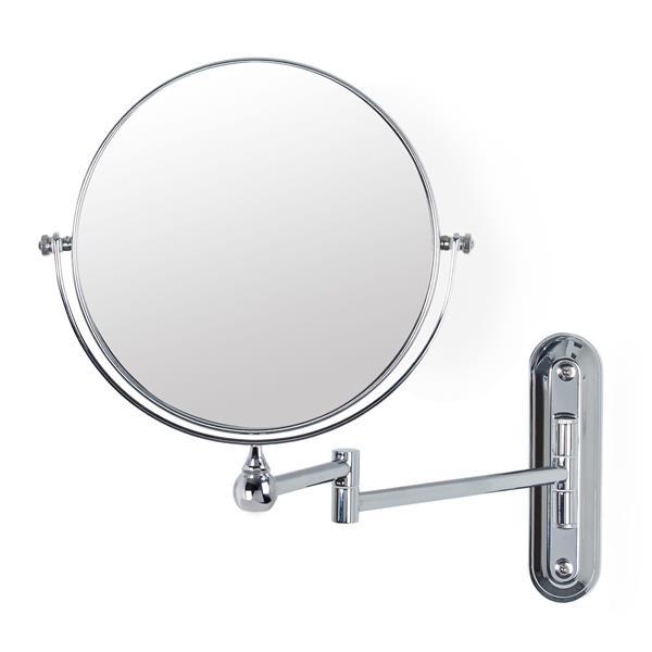 Better living products miroir mural pour salle de bain valet grossissant 5x 8 13542 rona - Miroir grossissant salle de bain mural ...