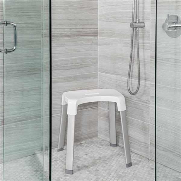 """Siège pour la douche SMART 4, Blanc,  19"""" x 16"""" x 19"""""""