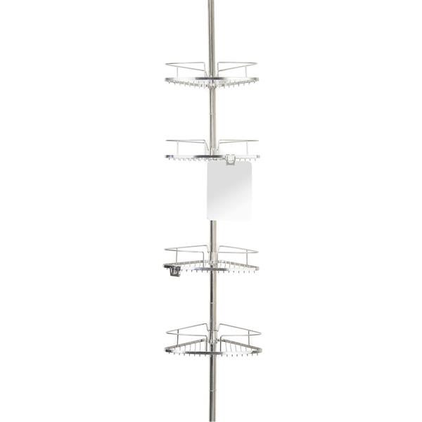 Better Living FINELINE Tension Pole Caddy - 13-inx4.63-inx 39-in