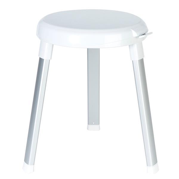 Better Living SWIVEL 360 Shower Seat - White - 15.25-in x 15.25-in x 18-in