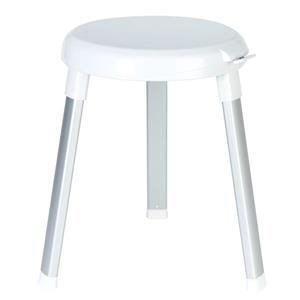 Better Living SWIVEL 360 Shower Seat - White - 15.25-in x 15.25-in x 18-in