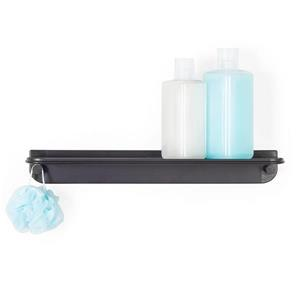 Better Living GLIDE Shower Shelf - Black - 18-in