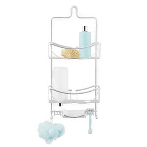 Better Living VENUS 3 Tier Shower Caddy - Silver - 11-inx 4.5-in x 24-in