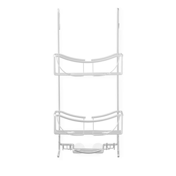 Better Living VENUS 3 Tier Shower Caddy - Silver - 11.25-in x 7.5-in x 24-in