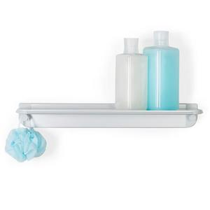 Better Living GLIDE Shower Shelf - Grey - 18-in