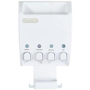 Distributeur à savon pour la douche ULT-MATE, 4 sections