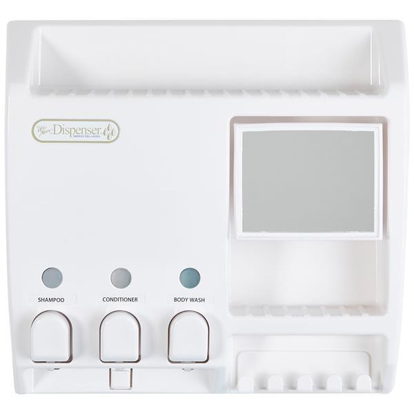 Better Living ULTI-MATE Dispenser with Mirror - White - 3 x 430 ml