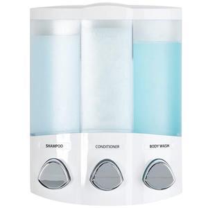 Better Living TRIO Soap Dispenser - White - 7-in x 3.75-in x 8.75-in