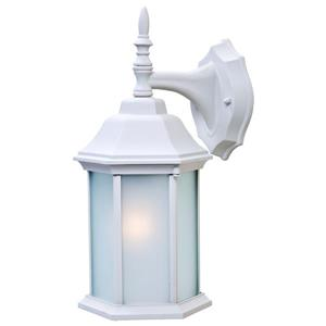 "Acclaim Lighting Craftsman 2 Wall Mount Lantern - 6.25"" x 13"" - White"
