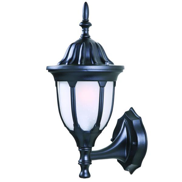 "Acclaim Lighting Suffolk 1-Light Wall Mount Lantern - 6.75"" x 15"" - Black"