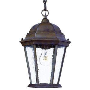 "Acclaim Lighting Richmond 1-Light Hanging Lantern - 9.5"" x 14"" - Walnut"