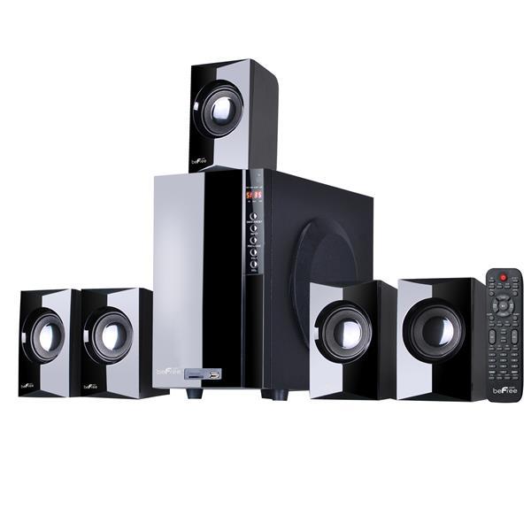 Beefree Sound Bluetooth Speaker System - 22-in x 18-in - Black - 5 pcs