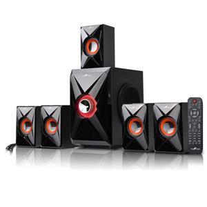 BeFree Sound 5.1 Channel Bluetooth Speaker - Black