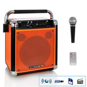 Haut-parleur portable Trexonic avec enregistrement USB