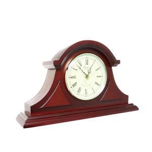 """Horloge de cheminée Bedford, 17,25"""", bois, chêne rouge"""