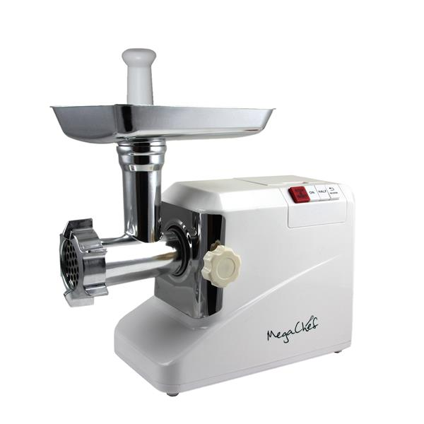 MegaChef Automatic Meat Grinder -  1800 W - White