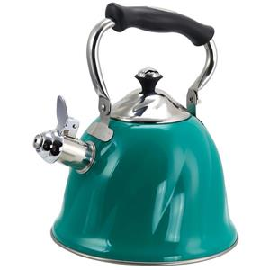 Mr. Coffee Alberton Tea Kettle with Lid - Emerald Green