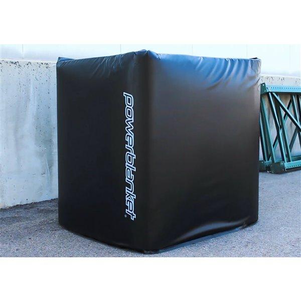 Powerblanket Tote Heater - 25' x 174' - Recycled Plastic - Black