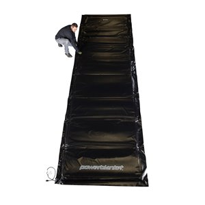 Powerblanket Concrete Curing Blanket - 48' x 132' - Black