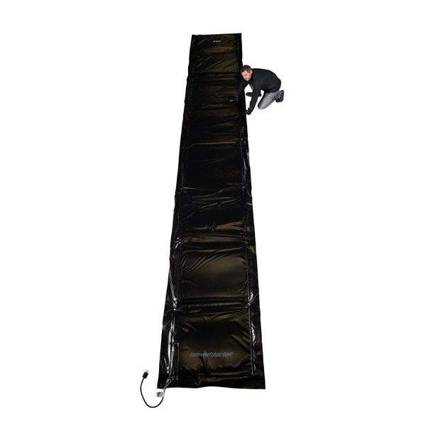 Powerblanket Concrete Curing Blanket - 48' x 252' - Black