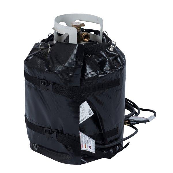 Powerblanket Gas Cylinder Heater - 20' x 45' - Plastic - Black