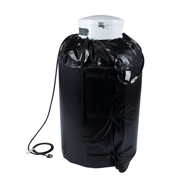 Gas Cylinder Heater - 26' x 45' - Plastic - Black