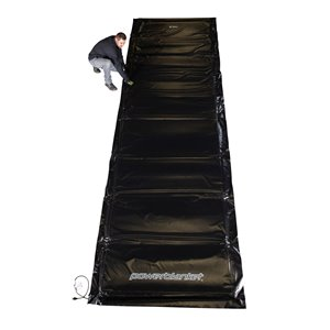 Powerblanket Ground Thaw - 72' x 120' - Plastic - Black