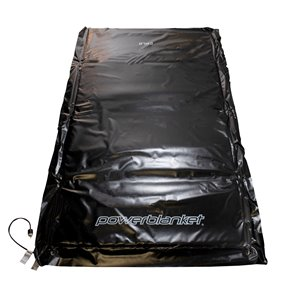 Powerblanket Ground Thaw - 48' x 60' - Plastic - Black