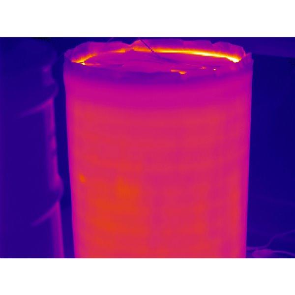 Powerblanket Drum Heater - 36' x 82' - Recycled Plastic - Black