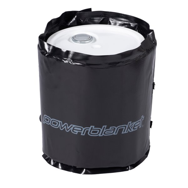 Powerblanket Pail Heater - 16' x 47' - Recycled Plastic - Black