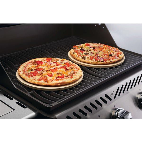 Napoleon Pizza/Baking Stone Set - 10-in - Cordierite