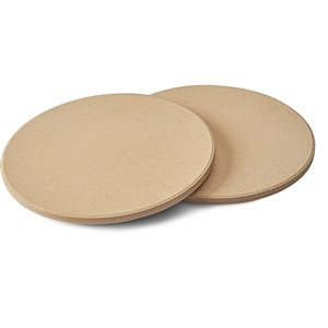 Napoleon Pizza/Baking Stone Set - 10-in - Cordierite