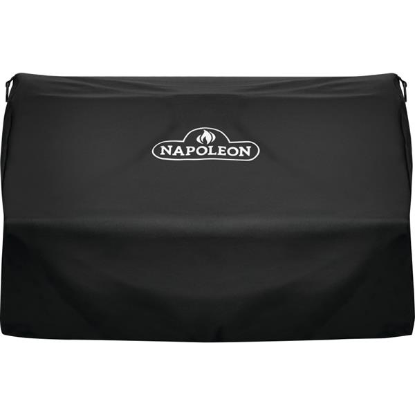 """Built-in Grill Cover - 37"""" x 24"""" - Polyester - Black"""