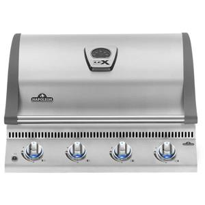 Napoleon LEX 605 Built-in Propane Gas Grill Head - 38.25-in - Silver
