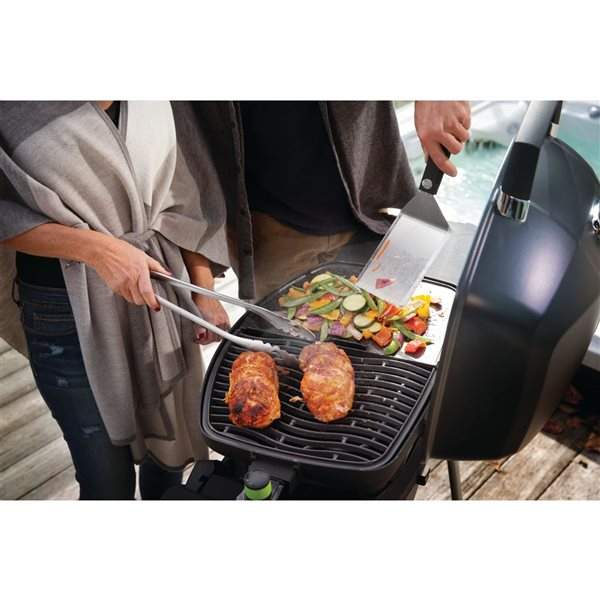 Napoleon TravelQ Portable Electric Grill - 29-in x 14.75-in - Black
