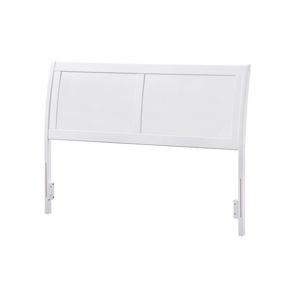 Atlantic Furniture Portland Full Traditional Headboard - White