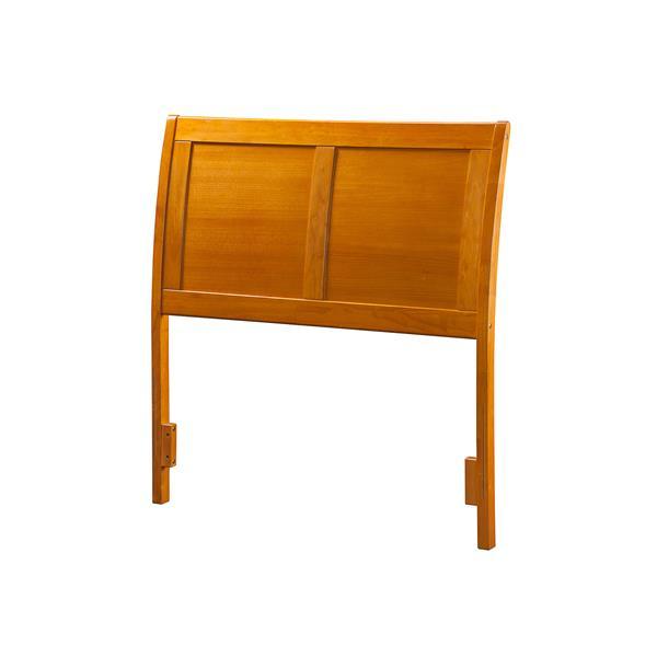 Atlantic Furniture Portland Full Traditional Headboard - Caramel
