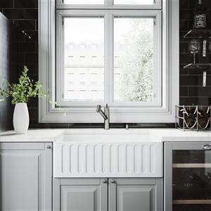 Évier de cuisine avec robinet et crépine Vigo(MD), 30