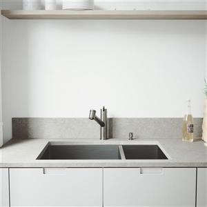 """Évier avec robinet, grilles et crépines Vigo(MD), 29"""""""