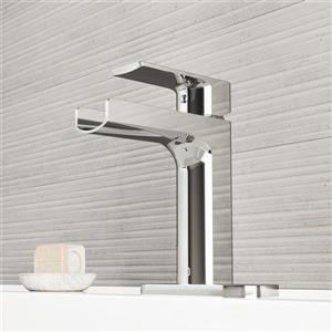Robinet de salle de bain monotrou avec applique «Ileana»