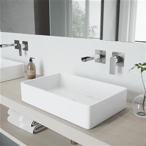 Vigo Atticus Wall Mount Bathroom Faucet - 1 Handle
