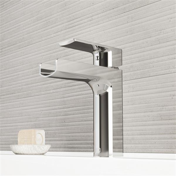 VIGO Ileana Single Hole Bathroom Faucet - 1 Handle